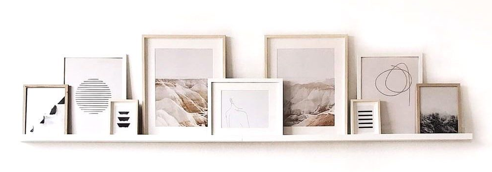 How to Use Picture Frames to Personalize Your Home Decor